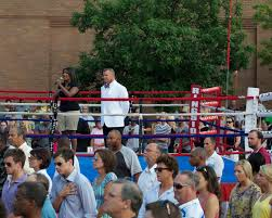 a charity fight night