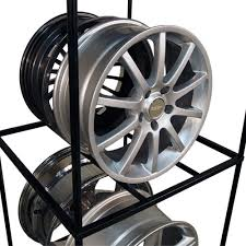 Alloy Wheel Display Stand MWD Wheel Display hold up to 100 Wheels Martins Industries 68