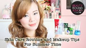 summer skin care routine and makeup tips oily skin beautyboundasia bbachallenge1 you
