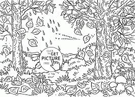Small Picture Beautiful Fall Day coloring pages for kids autumn season