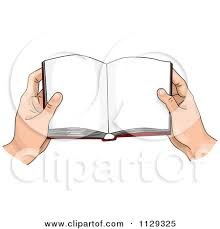 450x470 hand holding book clipart