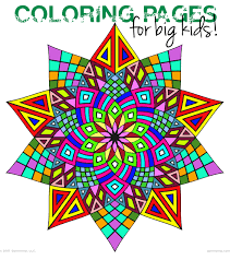 Geometric Coloring Pages And Free Printable Coloring Pages