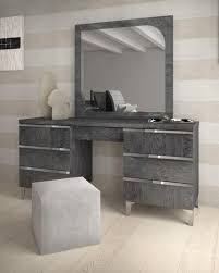 Elite Grey Birch Collection, Modern Vanity Unit With Drawers, Optional  Mirror