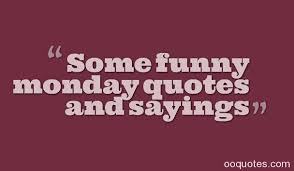 Funny Monday Morning Quotes Fascinating Some Funny Monday Quotes And Sayings Quotes