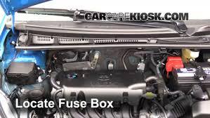 blown fuse check 2012 2017 toyota yaris 2015 toyota yaris le 1 5l locate engine fuse box and remove cover