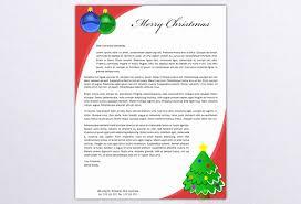 Christmas Stationery Templates Microsoft Word Puremature