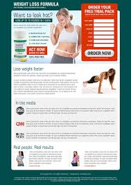sale page template weight loss landing page design template by semanticflow on deviantart