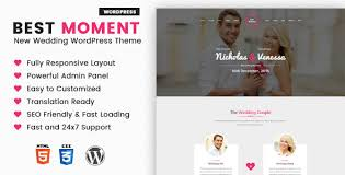 Wedding Wordpress Theme Best Moments Modern Wedding Wordpress Theme By 3jon Themeforest