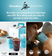 It's made w/ bold coffee forward flavors and top notch ingredients. Caribou Coffee Einstein S Catering Ebcatering Com