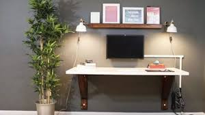diy desk cost. He Builds A Clever Wall Mounted Desk And Saves Lot Of Money Compared To The Diy Cost ,