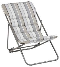 Coast Teak Sling Canvas Outdoor Side Chair  Kathy Kuo HomeOutdoor Sling Furniture