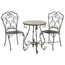 white metal furniture. White Metal Patio Furniture Medium Size Of Table And Chairs Mosaic Cast Iron W