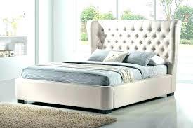 white cushion bed frame – aromaharmony.co
