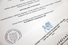Нострификация диплома кандидата наук Подебрады ру Нострификация диплома кандидата наук в Чехии