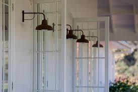 verandah lighting. Scone Farmhouse, Verandah Lighting, French Doors, Copper Lights Lighting