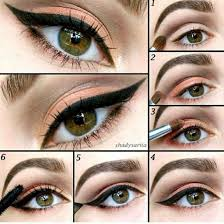 cute simple makeup ideas for brown eyes 6097