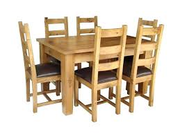 used oak dining room sets solid oak dining room chairs solid rustic oak extending dining table