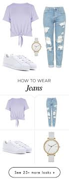 Best 25 Ripped jeans outfit ideas on Pinterest Teen fashion.