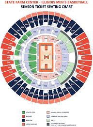 Basketball Seating Chart University Of Illinois State Farm