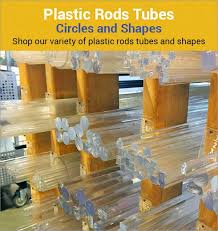 cut to size plastic rods s