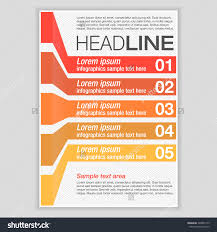 creative brochure template design infographic chart stock vector creative brochure template design infographic chart abstract vector flyer pamphlet leaflet layout