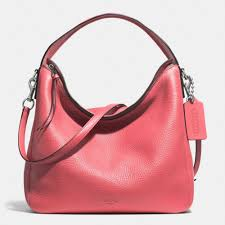 The Bleecker Sullivan Hobo In Pebbled Leather from Coach