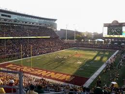 Tcf Stadium Seating Chart Mn United Tcf Bank Stadium Section 221 Home Of Minnesota Golden