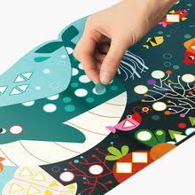 Cartoon Animals Mosaic Stickers Book Kids Toys diy Bright Shape ...