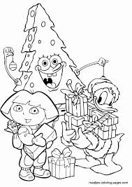 Christmas Spongebob Coloring Pages Awesome Print Easter Coloring