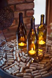 31 Beautiful Wine Bottles Centerpieces For Any Table-hometshetics (9)