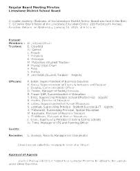 Llc Annual Meeting Minutes Template For Resume Pdf Sample