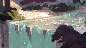 artwork, Waterfall, Steven Universe ...