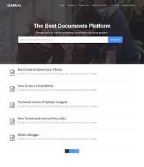 Manual Blogger Template Blogspot Templates 2019