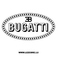 Sticker Bugatti Logo 2