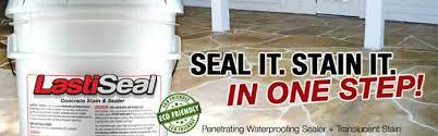 Penetrating Concrete Stain And Waterproofing Sealer Lastiseal