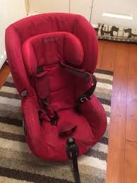 maxi cosi axiss car seat with new replacement covers