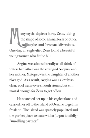 the myth of aeacus northwest press  click to view sample pages in full screen