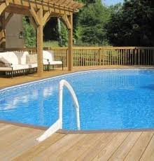 in ground pools rectangle. Deluxe Oval Above Ground Pools In Rectangle