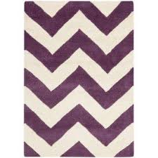 ham purple ivory 2 ft x 3 ft area rug