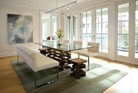 modern glass dining table set glass living room table sets decoration modern glass dining room table
