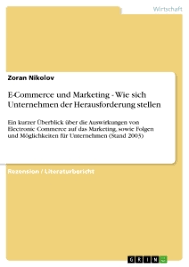 Autorenprofil | Zoran Nikolov | 2 eBooks | GRIN - 25128_related