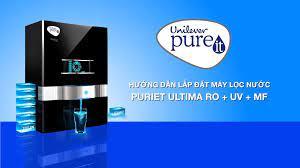 Unilever Pureit Vietnam - Hướng dẫn lắp đặt máy lọc nước Pureit Ultima