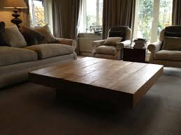 Coffee Table, Square Beam High Amazonica Coffee Table Large Wood Coffee  Tables: Amazing of Large Coffee Tables for Living Room
