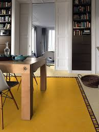 Linoleum Floor Kitchen The Lino Of Beauty Linoleum Can Be More Chic And Arty Than