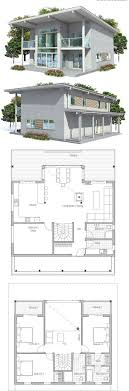 Modern 3 Bedroom House Floor Plans 17 Best Ideas About Small House Floor Plans On Pinterest Small