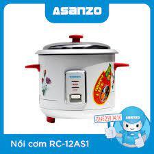 Nồi Cơm Điện Asanzo RC-12AS1 chính hãng, giá rẻ - ASANZO Hà Nội