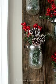 Mason Jar Decorations For Christmas Christmas mason jar decoration Christinas Adventures 49