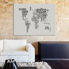 large wall art country names written world map canvas print mygreatcanvas extra large wall art wall art print large world map canvas print  on extra large wall art canada with large wall art country names written world map canvas print