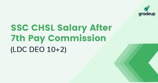 National Guard Pay Chart 2018 Ssc Chsl Salary 2019 In Hand Post Wise After 7th Pay