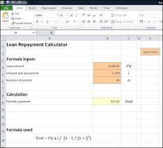Loan Repayment Calculator Plan Projections